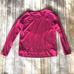 CALIA by Carrie Underwood Mesh Hot Pink Shirt